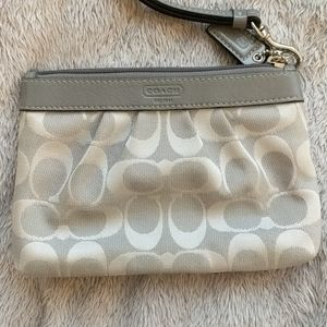 COACH Small Wristlet - Signature C